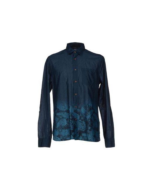C.P. Company | Мужская Синяя Pубашка
