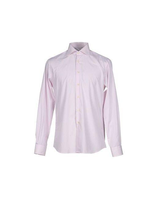 Mirto | Мужская Розовая Pубашка