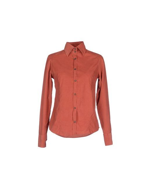 Etichetta 35 | Мужская Красная Pубашка