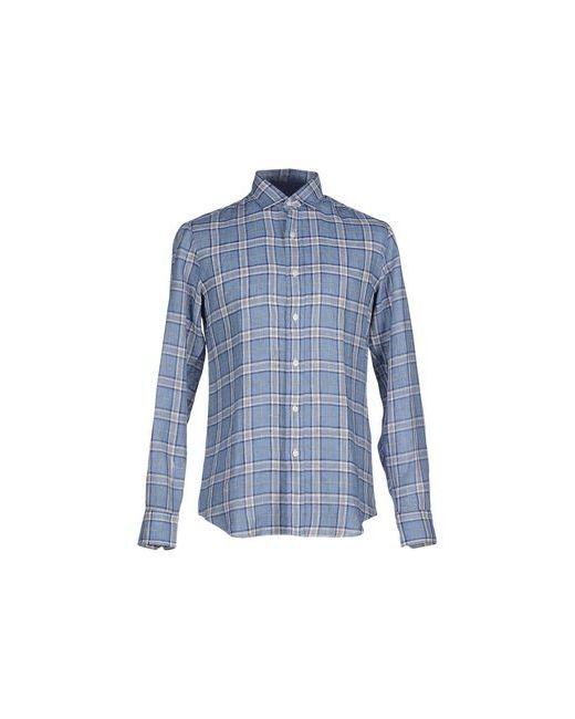 SALVATORE PICCOLO | Мужская Синяя Pубашка