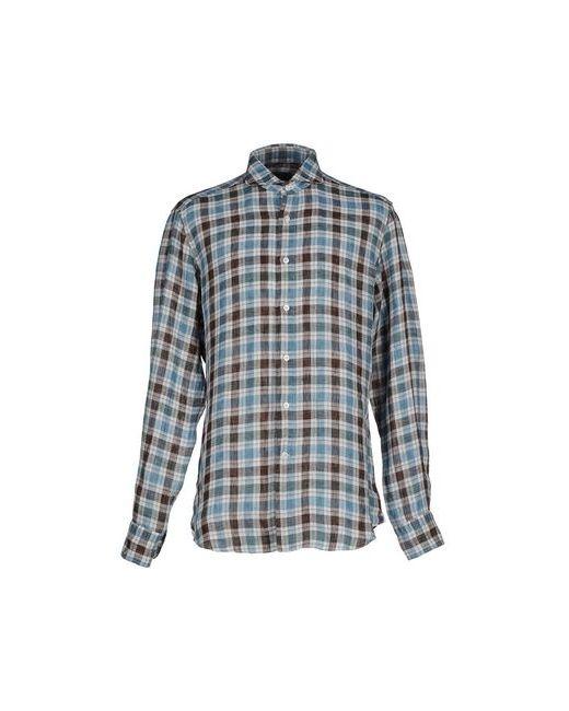 Cerdelli | Мужская Синяя Pубашка