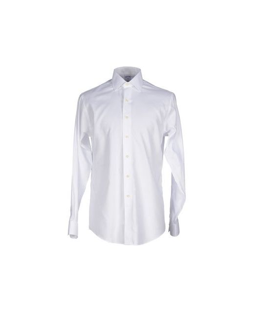 Brooks Brothers   Мужская Белая Pубашка
