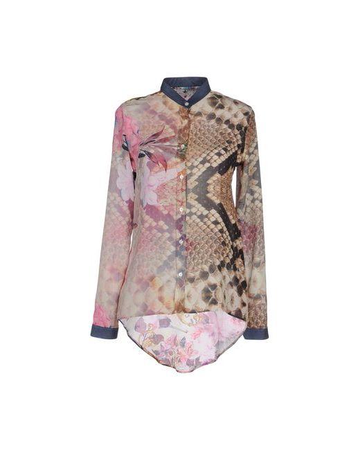 Macchia J | Мужская Розовая Pубашка