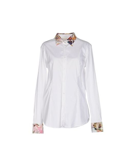 Macchia J   Мужская Белая Pубашка