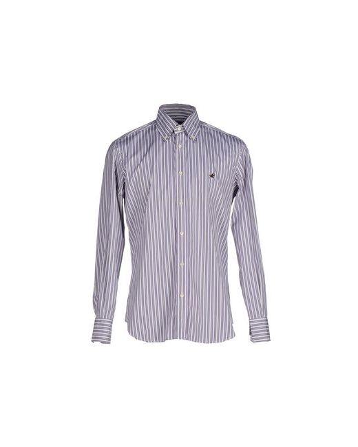 Brooksfield | Мужская Фиолетовая Pубашка