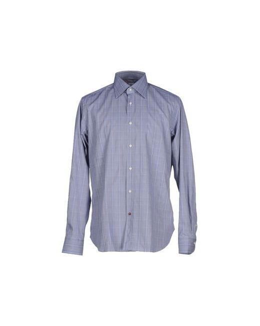 CÀRREL   Мужская Синяя Pубашка