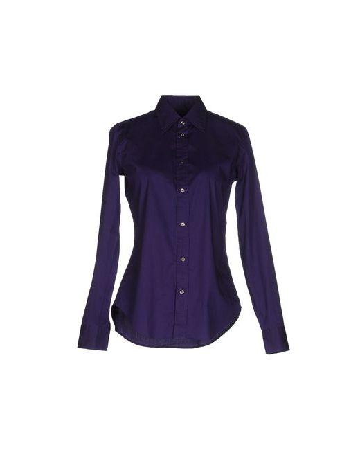 Ralph Lauren   Мужская Фиолетовая Pубашка