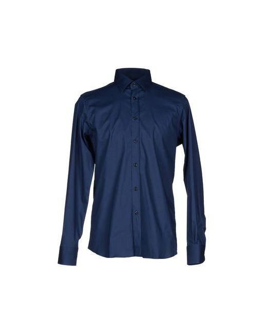 Dondup | Мужская Синяя Pубашка