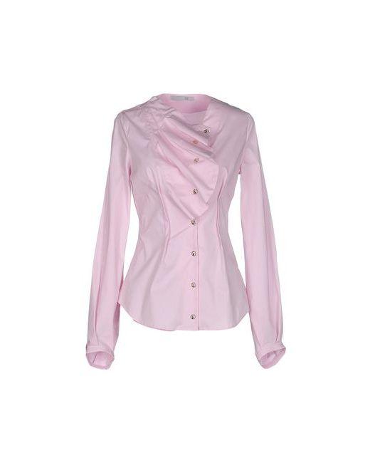 Oblique   Мужская Розовая Pубашка