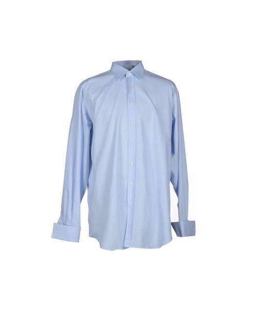 Xacus   Мужская Голуба Pубашка