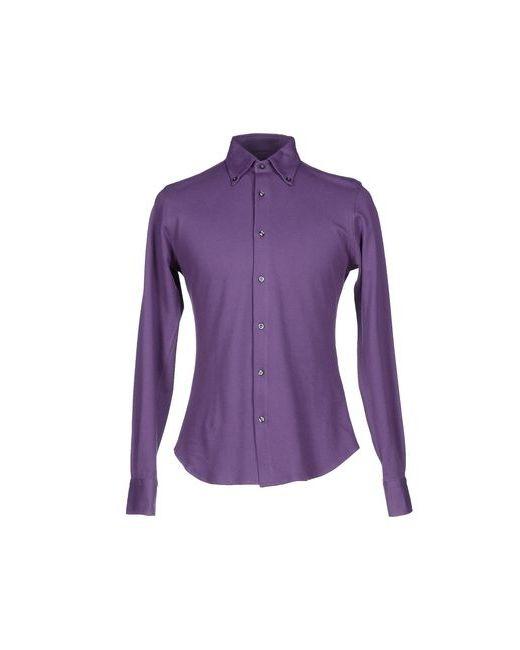 Allegri   Мужская Фиолетовая Pубашка