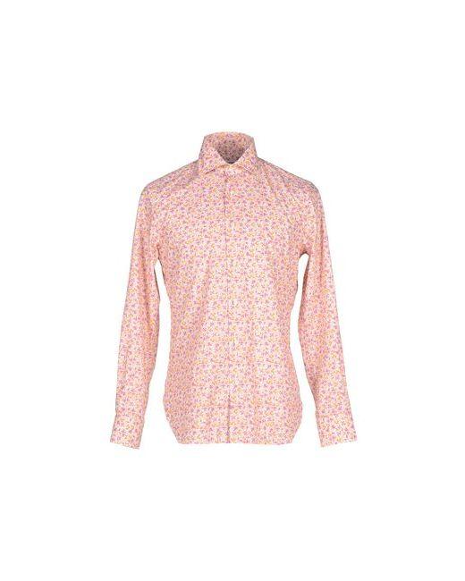 MATTABISCH | Мужская Розовая Pубашка