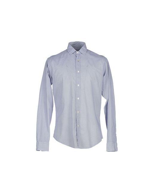 Brian Dales   Мужская Синяя Pубашка