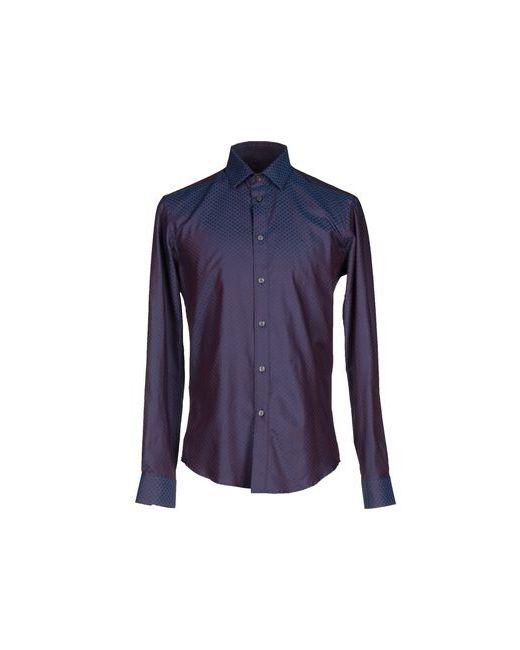 Brian Dales | Мужская Синяя Pубашка