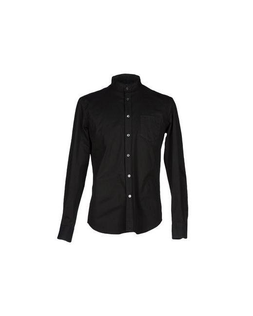 Department 5 | Мужская Чёрная Pубашка