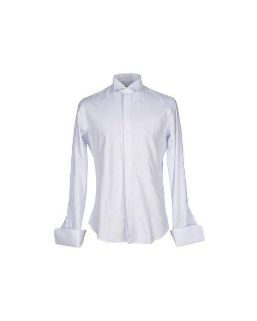 Tombolini | Мужская Белая Pубашка
