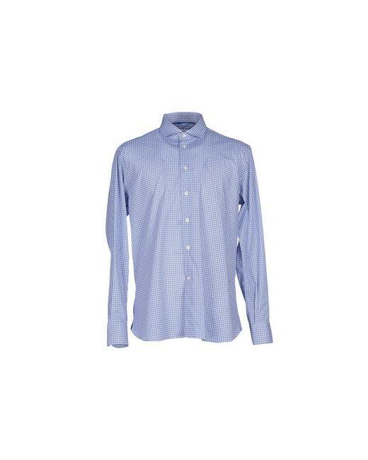 Brio | Мужская Синяя Pубашка