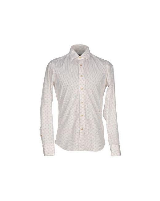 Sonrisa   Мужская Белая Pубашка