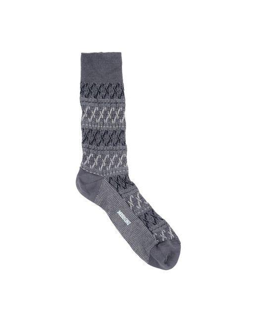Missoni | Мужские Серые Короткие Носки