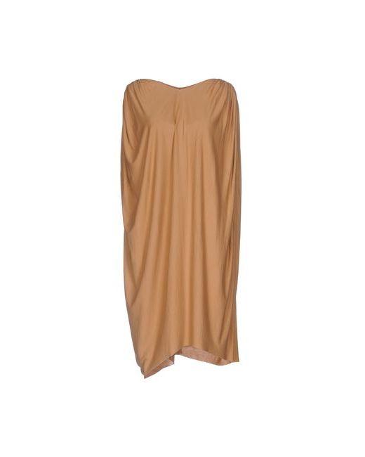 Rick Owens Lilies | Женское Песочное Короткое Платье