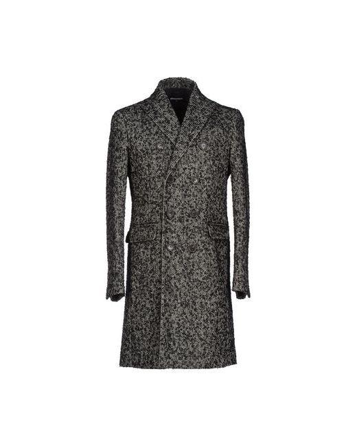 Dsquared2 | Мужское Чёрное Пальто