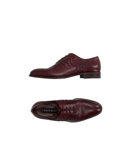 Fratelli Rossetti | Мужская Коричневая Обувь На Шнурках