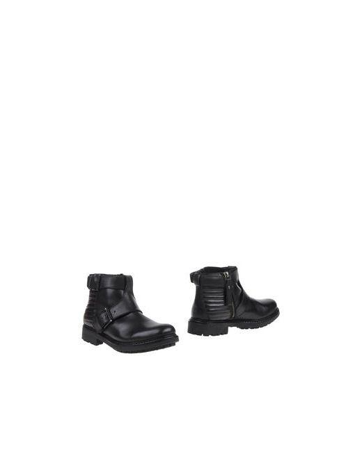Gioseppo   Мужские Чёрные Полусапоги И Высокие Ботинки