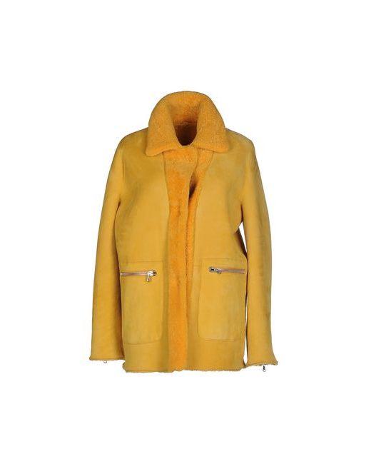UNFLEUR | Женское Жёлтое Пальто