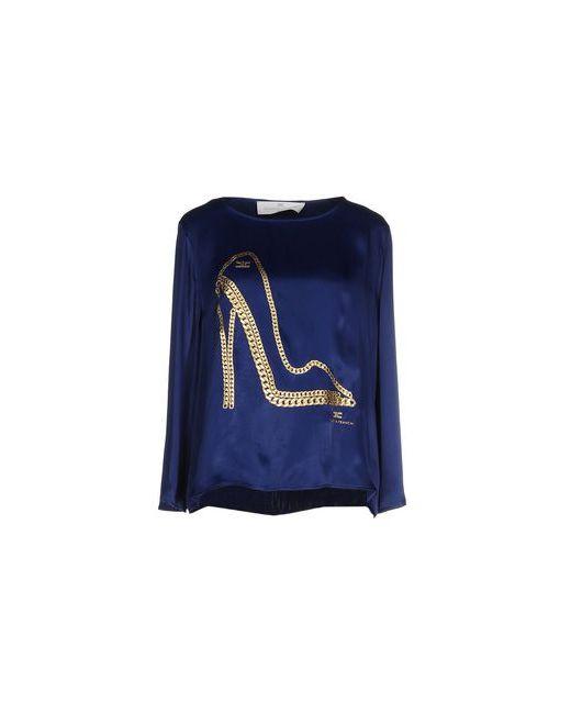 ELISABETTA FRANCHI | Женская Синяя Блузка