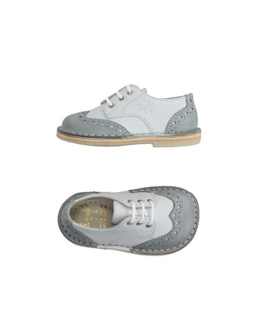 Il Gufo | Мужская Белая Обувь На Шнурках