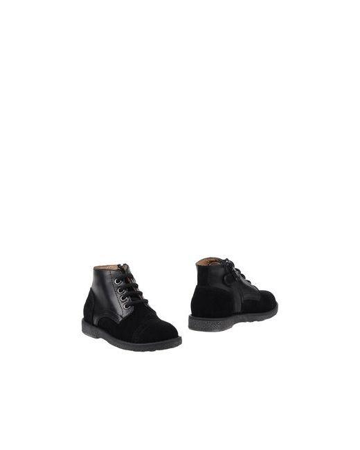 Gallucci | Мужские Чёрные Полусапоги И Высокие Ботинки