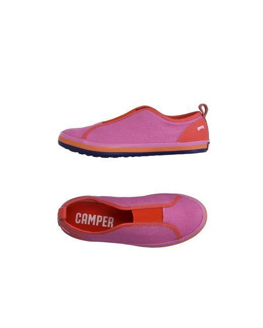 Camper | Мужские Фиолетовые Низкие Кеды И Кроссовки
