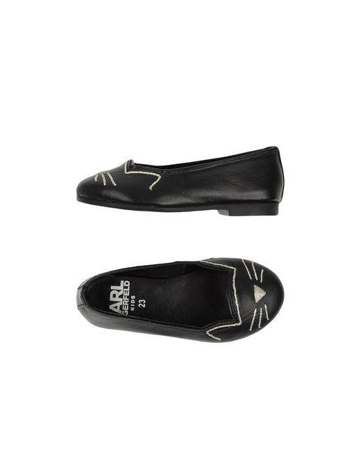 Karl Lagerfeld   Женские Чёрные Балетки