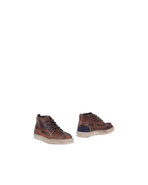Armani Junior | Мужские Какао Полусапоги И Высокие Ботинки