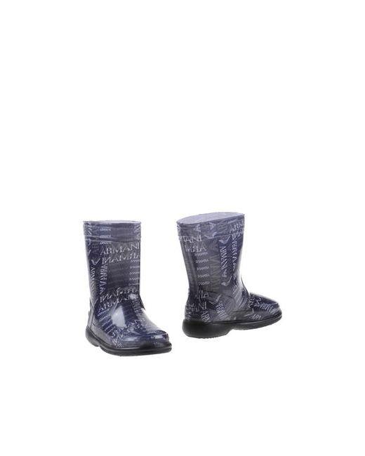 Armani Junior | Мужские Серые Полусапоги И Высокие Ботинки