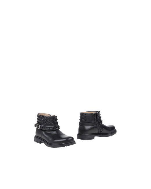 Florens Le Piccole   Мужские Чёрные Полусапоги И Высокие Ботинки