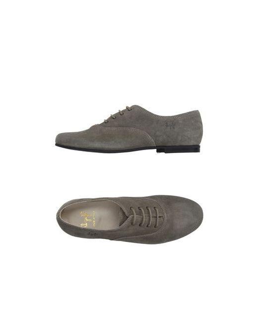 Il Gufo | Мужская Серая Обувь На Шнурках