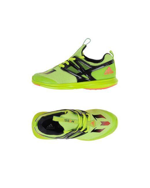 Adidas | Мужские Зелёные Низкие Кеды И Кроссовки