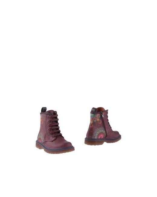 Desigual | Мужские Фиолетовые Полусапоги И Высокие Ботинки