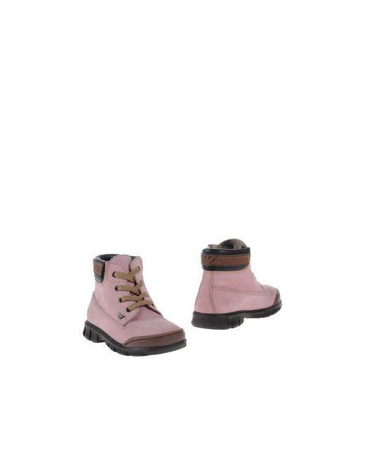 Armani Junior | Мужские Розовые Полусапоги И Высокие Ботинки