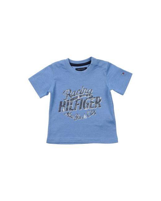 Tommy Hilfiger | Женская Синяя Футболка