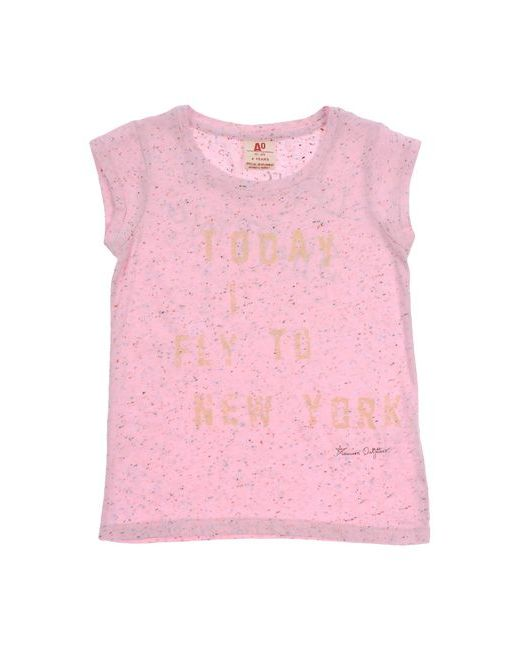 American Outfitters   Женская Розовая Футболка