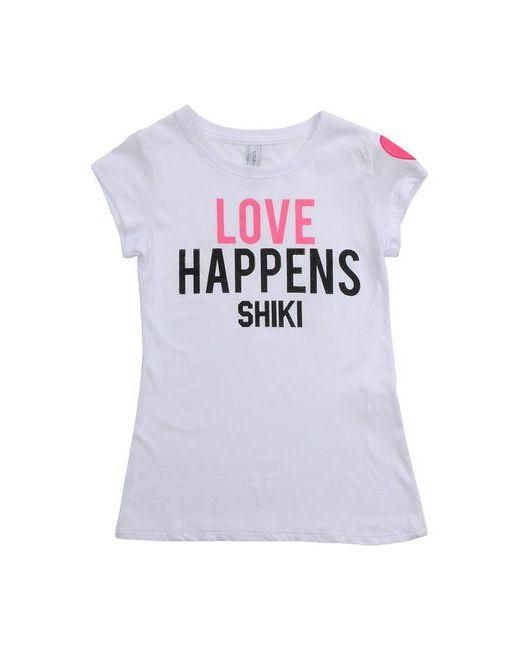 Shiki   Женская Белая Футболка