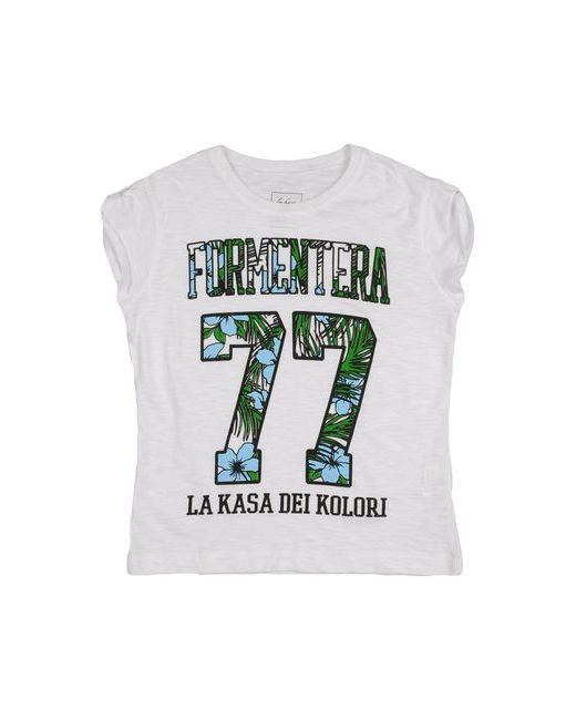 La Kasa Dei Kolori | Женская Белая Футболка