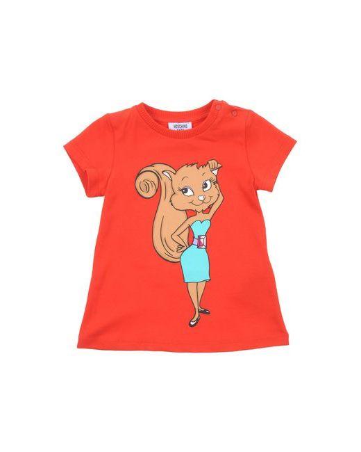 Moschino Baby | Женская Красная Футболка