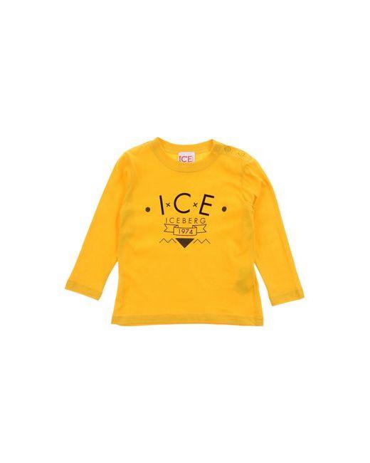 ICE ICEBERG BABY | Женская Жёлтая Футболка