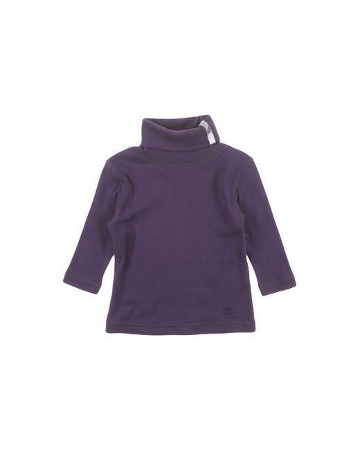BURBERRY CHILDREN   Женская Фиолетовая Футболка
