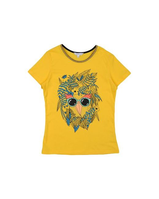 Little Marc Jacobs   Женская Жёлтая Футболка