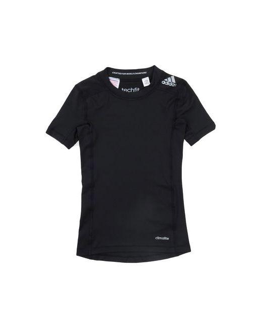 Adidas   Женская Чёрная Футболка