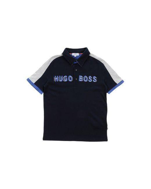 BOSS   Мужское Синее Поло